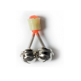 Eagle Claw Fishing Bell with Luminous Clip Nickel