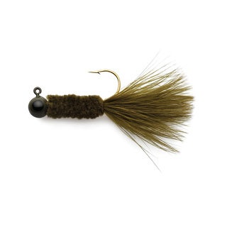 Eagle Claw Crappie Jigs Olive