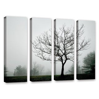 ArtWall Steve Ainsworth 'The Presiding Officer' 4 Piece Gallery-Wrapped Canvas Set