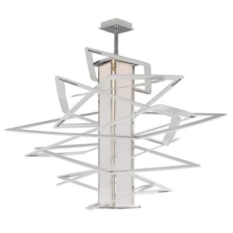 Corbett Lighting Tantrum 1-light White Large Pendant