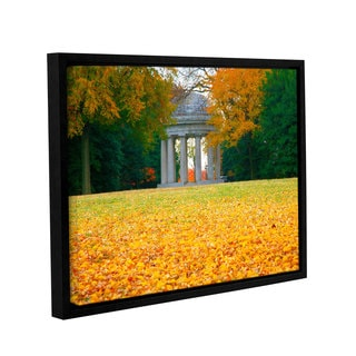 ArtWall Steve Ainsworth 'Remembrance' Gallery-wrapped Floater-framed Canvas