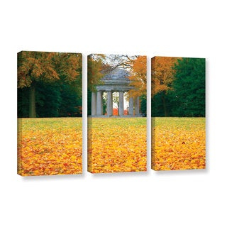 ArtWall Steve Ainsworth 'Remembrance' 3 Piece Gallery-wrapped Canvas Set