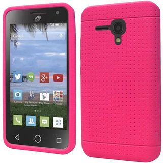 Insten Rugged Silicone Skin Gel Rubber Phone Case Cover For Alcatel One Touch Pop Nova