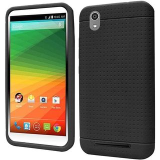 Insten Rugged Silicone Skin Gel Rubber Phone Case Cover For ZTE Lever LTE
