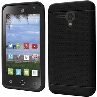 Insten Rugged Soft Silicone Skin Rubber Phone Case Cover For Alcatel Nova