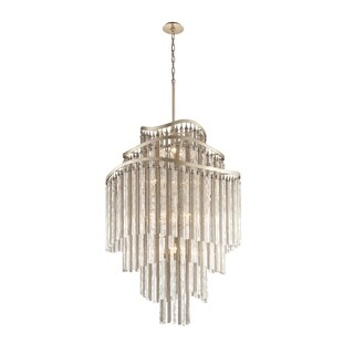 Corbett Lighting Chimera 18-light Entry Pendant