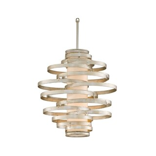 Corbett Lighting Vertigo 2-light Silver Pendant