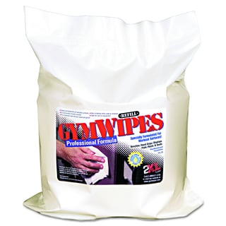 2XL Unscented 6 x 8 Antibacterial Gym Wipes Refill (4 Pack of 700 Wipes)