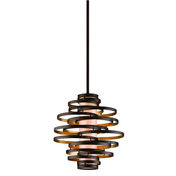 Corbett Lighting Vertigo 2-light Bronze Pendant