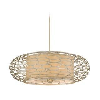 Corbett Lighting Cesto 10-light Silver Pendant