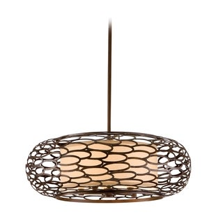Corbett Lighting Cesto 5-light Bronze Pendant