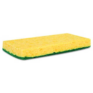 Premiere Pads Yellow/Green Medium Duty Scrubbing Sponge (Pack of 20)