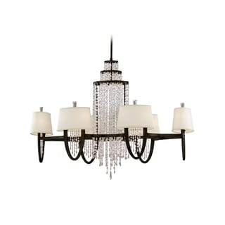 Corbett Lighting Viceroy 12-light Bronze Oval Chandelier