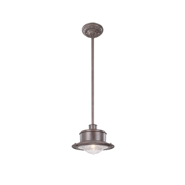 shop troy lighting south street 1 light small hanging downlight