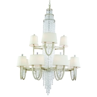 Corbett Lighting Viceroy 16+8-light Oval Chandelier