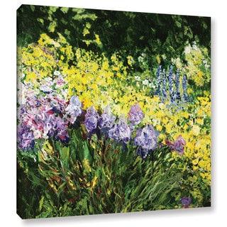 ArtWall Allan Friedlander 'Sunshine Blossoms' Gallery-wrapped Canvas