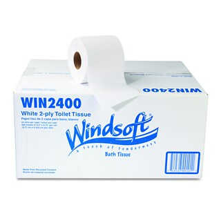 Windsoft Facial Quality 2-Ply Toilet Tissue (Pack of 24)