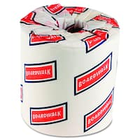 Boardwalk One-Ply White Toilet Tissue (Pack of 96)