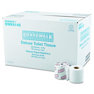 Boardwalk 2-Ply Standard White Bathroom Tissue (Pack of 96)