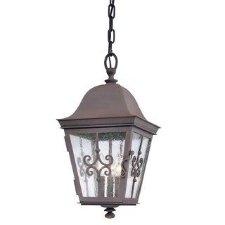 Troy Lighting Markham 3-light Hanging Lantern