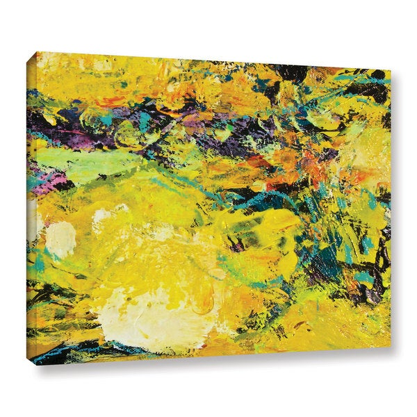 ArtWall Allan Friedlander 'Watermelon Patch' Gallery-wrapped Canvas