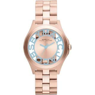 Marc Jacobs Women's MBM3296 Henry Skeleton Rose Gold Watch|https://ak1.ostkcdn.com/images/products/10432429/P17530385.jpg?impolicy=medium