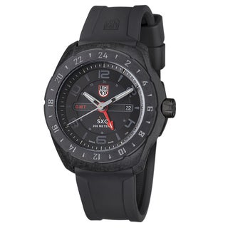 Luminox Men's Space Black Silicone Watch