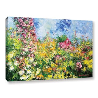 ArtWall Allan Friedlander 'Wild Sweetness' Gallery-wrapped Canvas
