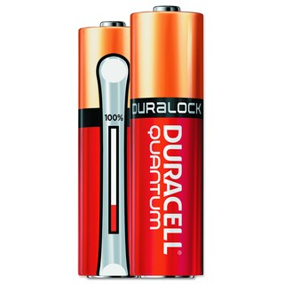 Duracell Quantum Alkaline AA Batteries with Duralock Power Preserve Technology (Pack of 144)
