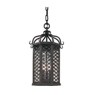 Troy Lighting Los Olivos 3-light Hanging Lantern