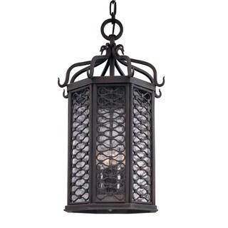 Troy Lighting Los Olivos 4-light Hanging Lantern
