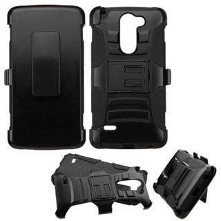 Insten Hard PC/ Silicone Dual Layer Hybrid Phone Case Cover with Holster For LG G Stylo|https://ak1.ostkcdn.com/images/products/10432559/P17530324.jpg?impolicy=medium