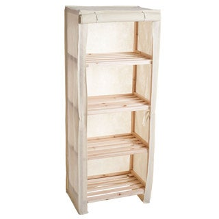 4-Tier Wood Shelf with Removable Cover by Lavish Home|https://ak1.ostkcdn.com/images/products/10432564/P17530377.jpg?_ostk_perf_=percv&impolicy=medium