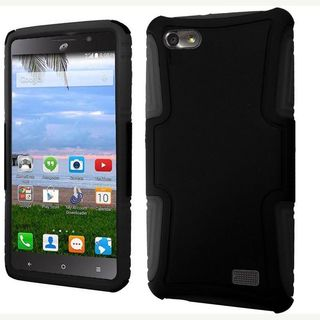Insten Hard PC/ Silicone Dual Layer Hybrid Phone Case Cover For Huawei Raven LTE