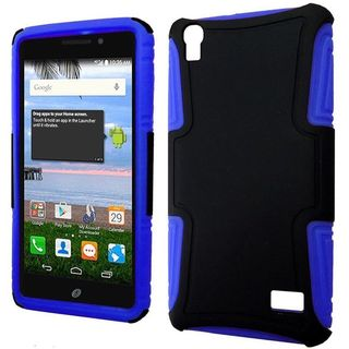 Insten Hard PC/ Silicone Dual Layer Hybrid Phone Case Cover For Huawei Pronto/ SnapTo