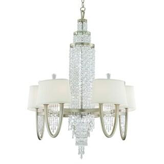 Corbett Lighting Viceroy 10-light Silver Chandelier