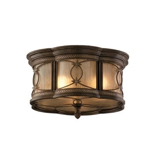 Corbett Lighting St Moritz 3-light Flush Mount