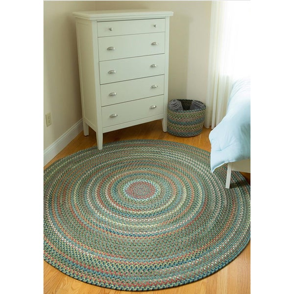 Shop Rhody Rug Charisma Braided Indoor Outdoor Rug 6 Round On