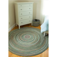 Rhody Rug Charisma Braided Indoor/Outdoor Rug (6' Round)