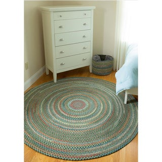 Charisma Indoor/Outdoor 6-foot Round Braided Rug by Rhody Rug