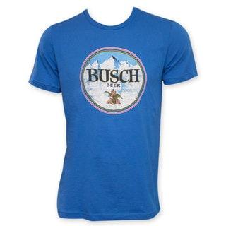 Busch Beer Retro Circle Logo T-Shirt