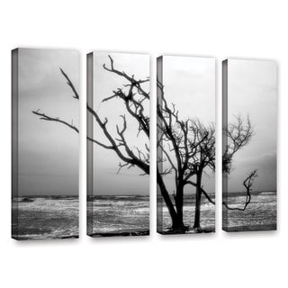 ArtWall Steve Ainsworth 'Hanging On' 4 Piece Gallery-Wrapped Canvas Set
