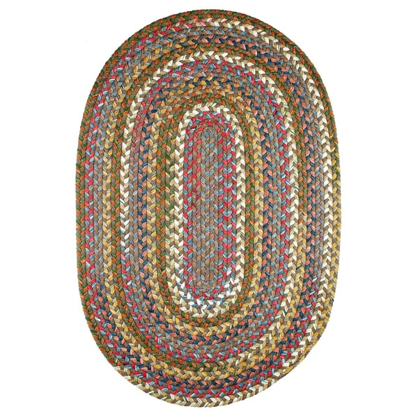 Charisma Indoor/Outdoor Oval Braided Rug by Rhody Rug (7\' x 9 ...