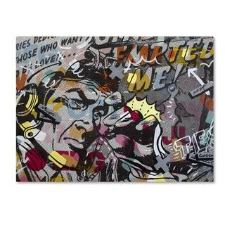 Dan Monteavaro 'Mimosas' Canvas Art