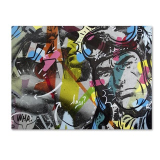 Dan Monteavaro 'Strongman' Canvas Art