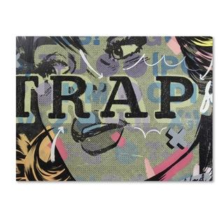 Dan Monteavaro 'Trap' Canvas Art