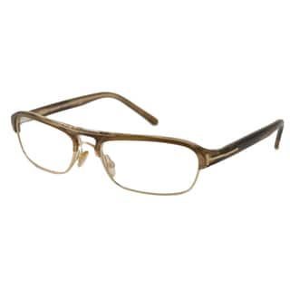 Tom Ford Men's TF5026 Rectangular Reading Glasses