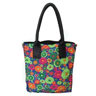 Amerileather Floral OliviaTote Bag (3305-9)
