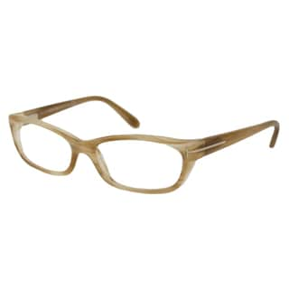 Tom Ford Women's TF5230 Rectangular Reading Glasses