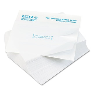 PM Company Postage Meter Double Tape Sheets (Pack of 300)